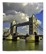 Tower Bridge I Fleece Blanket