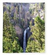 Tower Fall Yellowstone Fleece Blanket