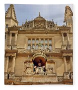 Tower Of The Five Orders Bodleian Library Oxford Fleece Blanket
