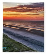 Tower Sunrise Fleece Blanket