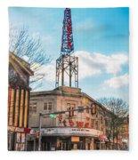 Tower Theater - Upper Darby Pa Fleece Blanket