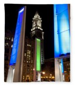 Towers Of Light Fleece Blanket