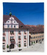Town Hall And St. Martin Cathedral Fleece Blanket