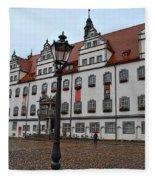 Town Hall Fleece Blanket