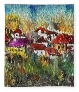Town To Country Fleece Blanket