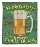 Township Saloon Fleece Blanket