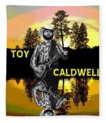 Toy Caldwell At Amber Lake 2 Fleece Blanket
