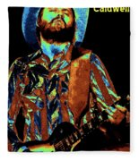 Toy Caldwell Plays The Blues Fleece Blanket