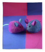 Toy Mice Fleece Blanket