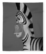 Toy Zebra Fleece Blanket