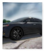 Toyota Venza_2011 Fleece Blanket