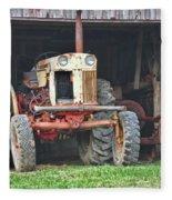 Tractor Fleece Blanket