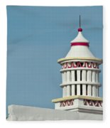Traditional Algarve Chimney Fleece Blanket