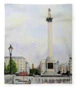 Trafalgar Square London Fleece Blanket