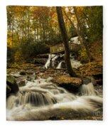Trahlyta Falls Fleece Blanket