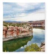 Trail Creek Canyon Fleece Blanket