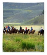 Trail Ride Fleece Blanket