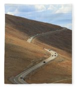 Trail Ridge Road Rocky Mountain National Park Fleece Blanket