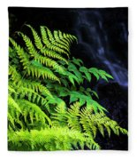 Trailside Plants Fleece Blanket