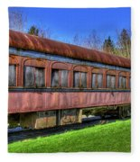 Train No. 91 Fleece Blanket