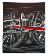 Train Wheels 4 Fleece Blanket