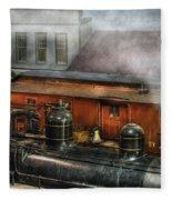 Train - Yard - The Train Yard II Fleece Blanket