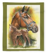 Trakehner Fleece Blanket