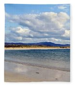 Tramore Beach Donegal Fleece Blanket