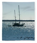 Tranquil Bay Fleece Blanket