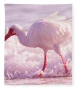 Tranquil Beauty Cortez Beach Fleece Blanket