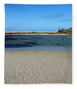 Tranquil Blue Fleece Blanket