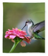 Tranquil Joy Fleece Blanket