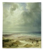 Tranquil Sea Fleece Blanket