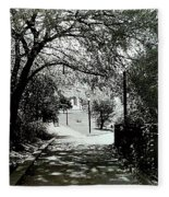 Tranquil Walk Fleece Blanket