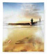 Tranquility Fleece Blanket