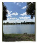 Tranquility - Port Richey, Florida Fleece Blanket