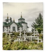 Transfiguration Of Our Lord Church Fleece Blanket