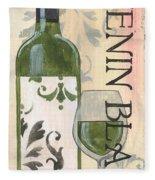 Transitional Wine Chenin Blanc Fleece Blanket