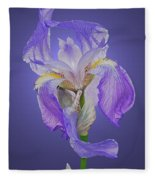 Translucent Iris Fleece Blanket
