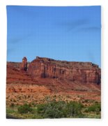 Traveling On Highway 163 Fleece Blanket