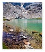 Treasure Lake 3 Rocky Shoreline Fleece Blanket