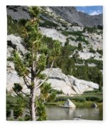 Treasure Lake Pine Fleece Blanket