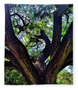 Tree 105 Fleece Blanket