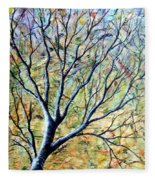 Tree 3 Fleece Blanket