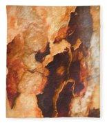 Tree Bark Collection # 50 Fleece Blanket