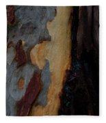 Tree Bark Collection # 52 Fleece Blanket