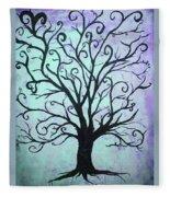 Our Tree Fleece Blanket