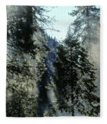 Tree Breath Fleece Blanket