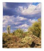 Tree Cactus Fleece Blanket