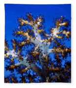 Tree Coral Fleece Blanket